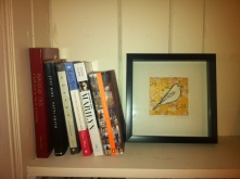 Book shelf detail