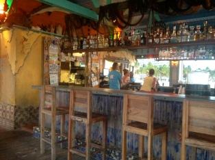 Pier bar in Aruba