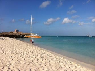 Aruba view from the Radisson