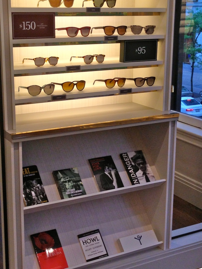 Photo of Boston Warby Parker store