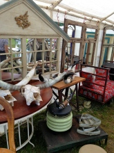 Brimfield fair horns